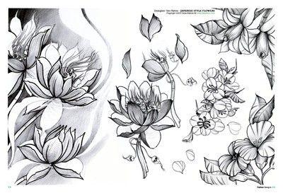 idea_tattoo_japanese_style_stile_giapponese_fiori_tattoo.jpg (400×273)