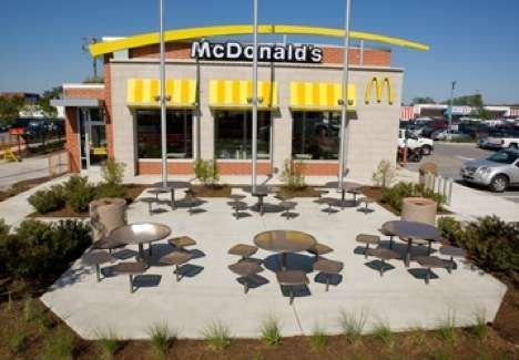 Eco-Friendly Fast Food - McDonald's Opens LEED-Certified Restaurant in Chicago (GALLERY)