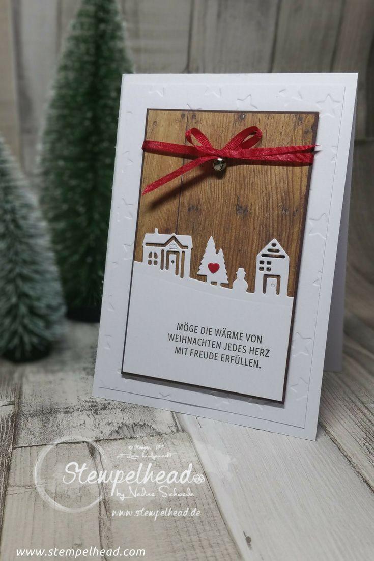 Noch 3 Tage bis Weihnachten – Weihnachtskarte 5 | SU - Hearts Come ...