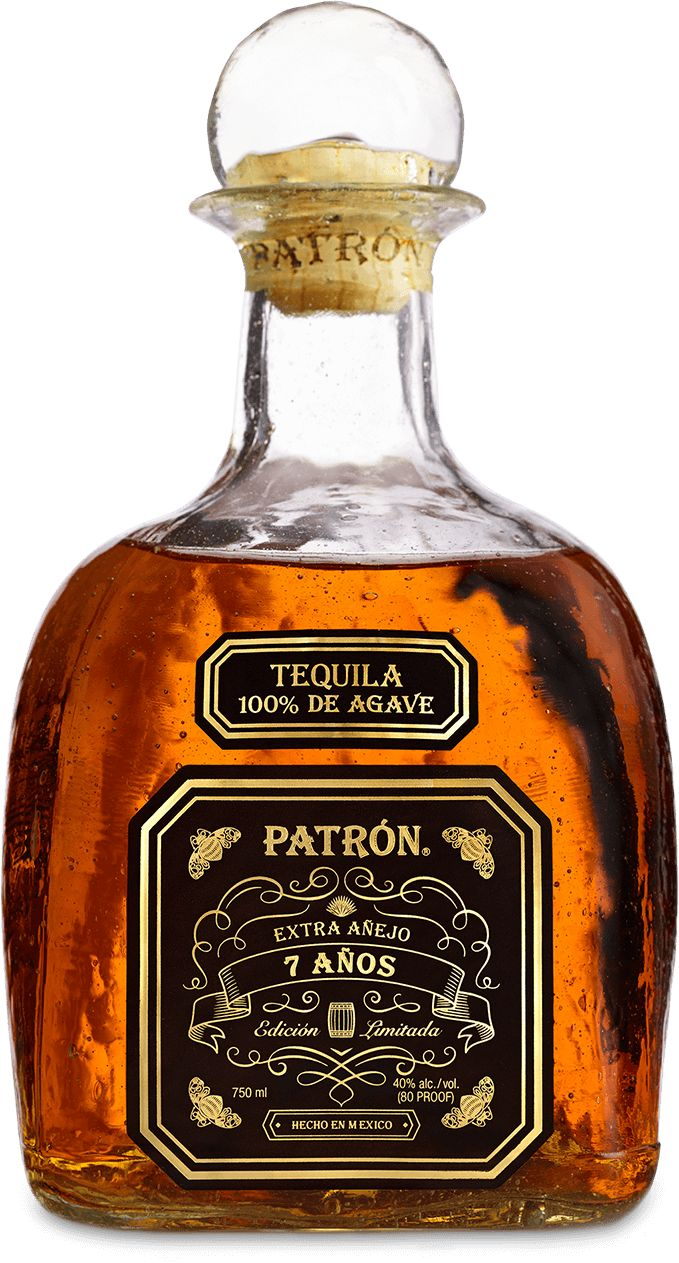 #Patron Añejo 7 Años is aged seven years to perfection.