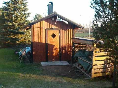 How to build a Finnish sauna. My mothers family comes from Finnland. I have had plenty of steambaths in homemade sauna's....
