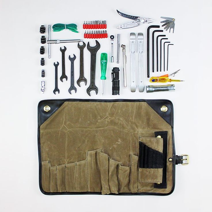 Union Garage NYC | Union Garage Tool Roll. Not a fashion statement. This one comes with a full 52-piece kit.