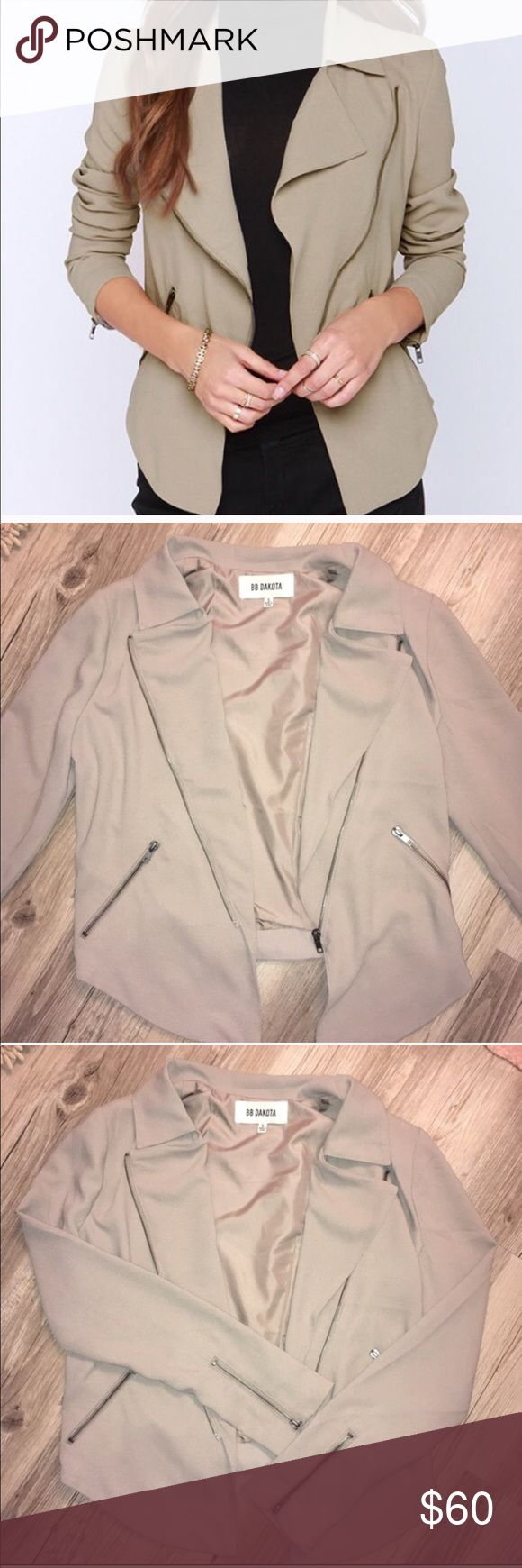 BB Dakota Jacket NWOT! Bought from another posher and is too big for me  Beautiful jacket - perfect for fall and winter nights out! BB Dakota Jackets & Coats