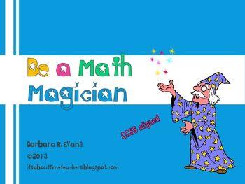 Be a Math Magician -- Critical Thinking