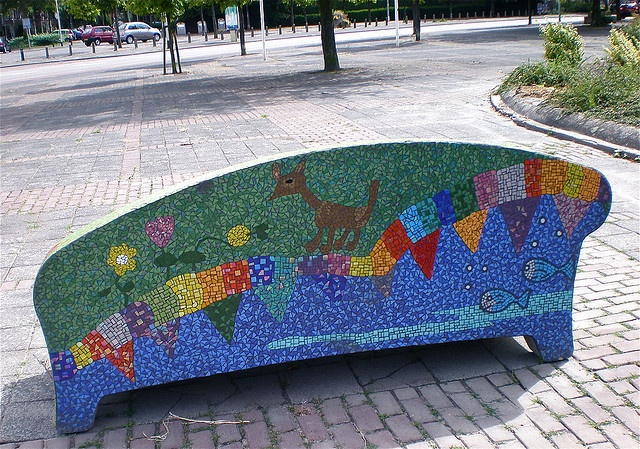 1000 Images About Bench Mosaics On Pinterest A 4