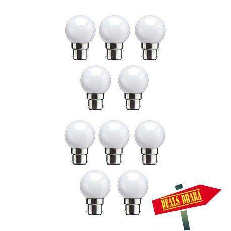 Syska 0.5watt Cool White Led Bulb (Pack of 10)