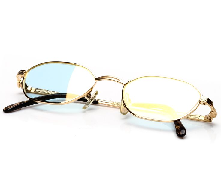 Paolo Gucci PG 7307 (Light Blue Flash Gold)