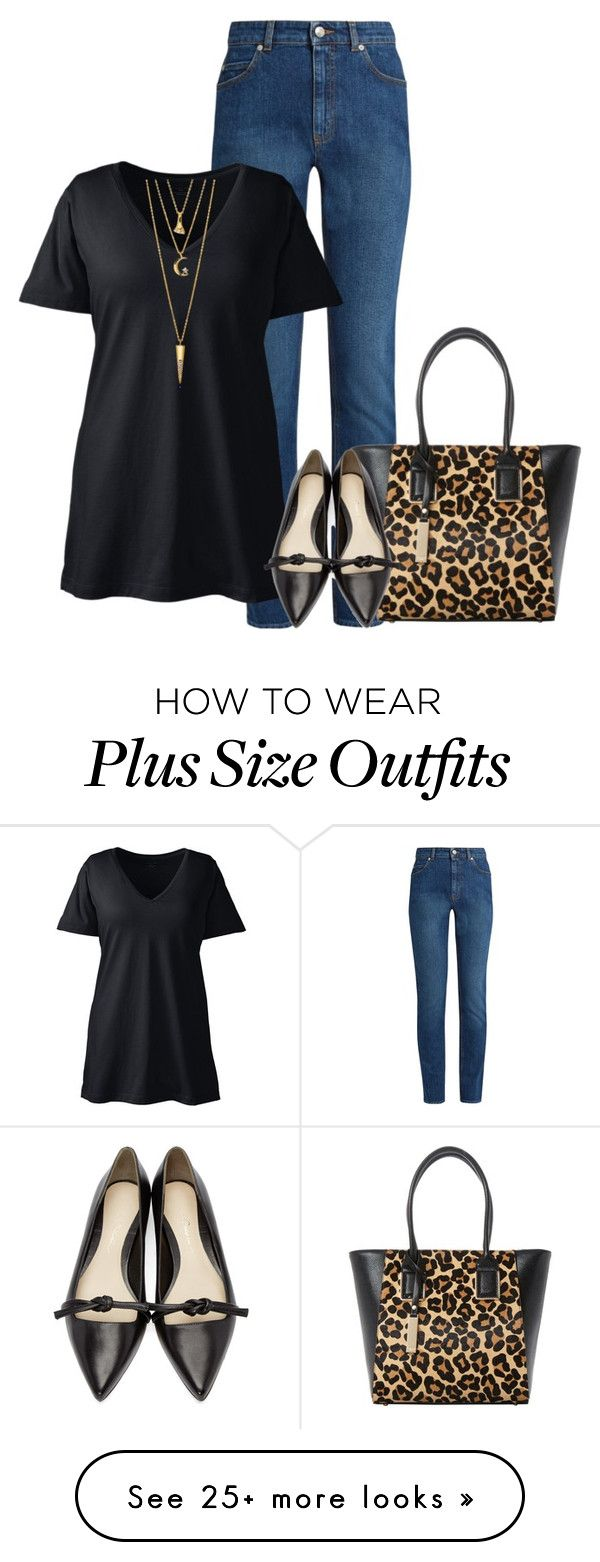 """""""Phillip"""" by tina-pieterse on Polyvore featuring Alexander McQueen, Lands' End, Dune, 3.1 Phillip Lim, BERRICLE and plus size clothing"""