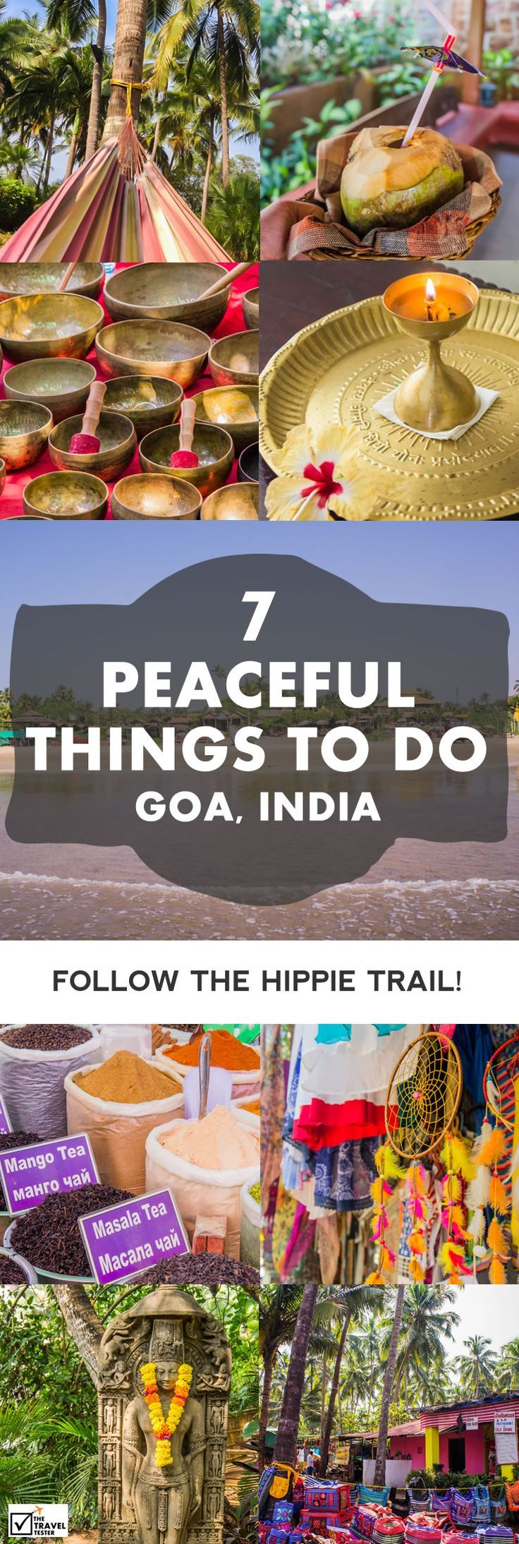 Are you wondering what places to see in Goa, India? Here are some suggestions on things to see and do to find that true Hippie vibe || The Travel Tester - Self-Development through Travel