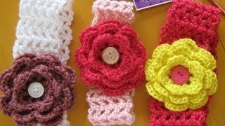CROTCHED headbands for girls - YouTube