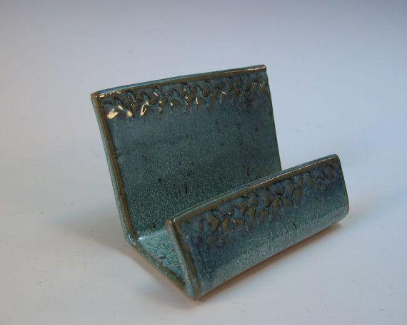 72 best images about business card holder on pinterest for Ceramic business card holder