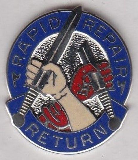 69th Maintenance Battalion crest