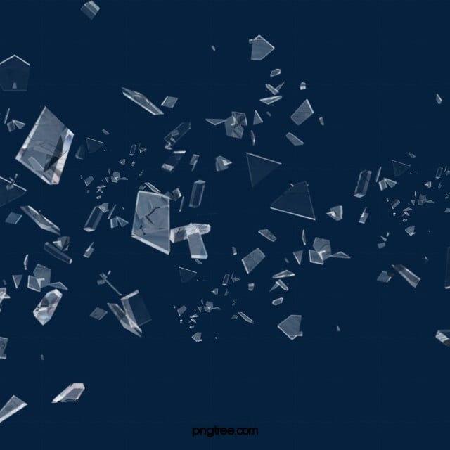 Broken Glass Decorative Pattern Glass Fragments Glass Autumn Photography