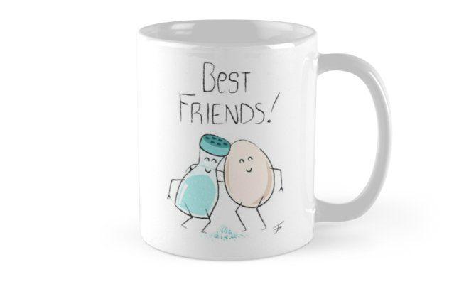 Sweet Salted Love Tasse Von Hessmanndesign Geschenk Beste Freundin Verschenken Becher