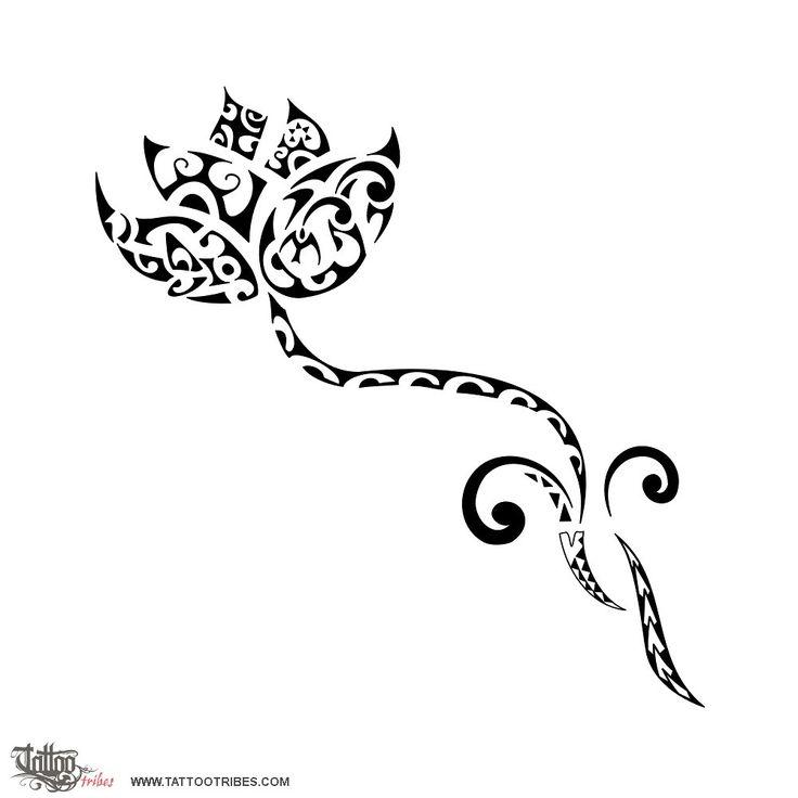 Flor de lótus tribal... essa eu ainda ñ tinha visto!!