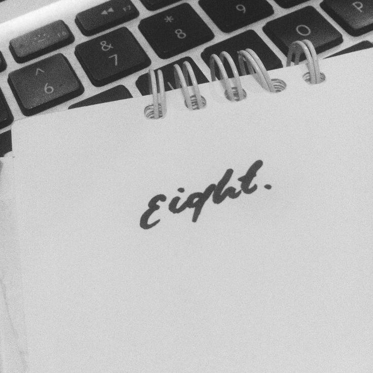 Eightshole~ #typograph