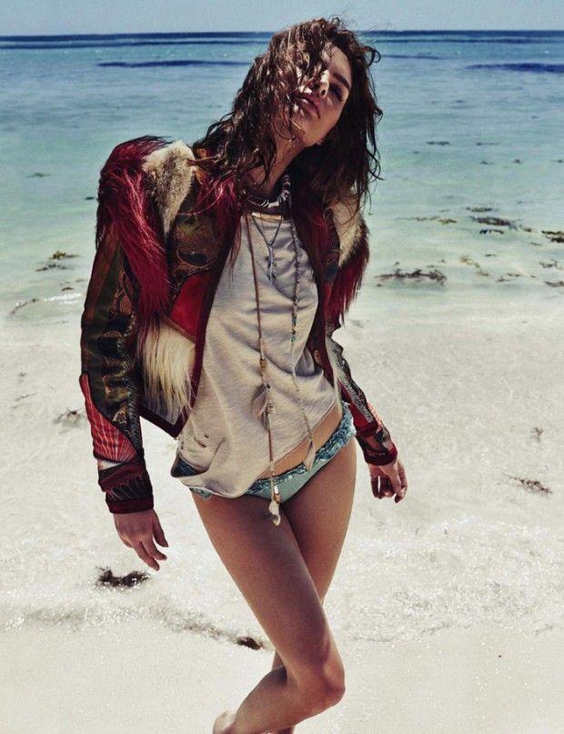 vogue-is-viral:  Alyssa Miller by Xavi Gordo for Elle Spain May 2015