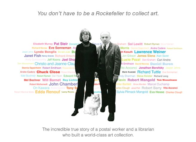 Herb and Dorothy. You don't have to be a Rockefeller to collect art.: Movie