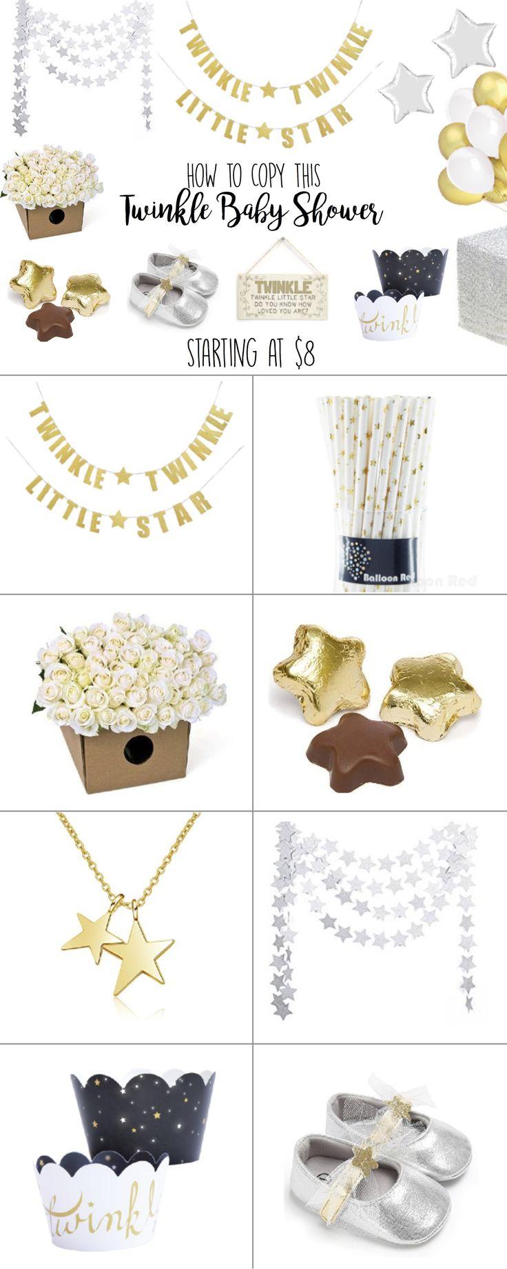 Twinkle Twinkle Little Star Baby Shower Ideas, Theme Inspiration