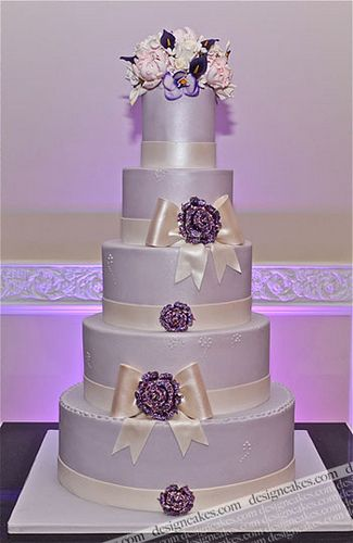 Lavender Wedding Cake