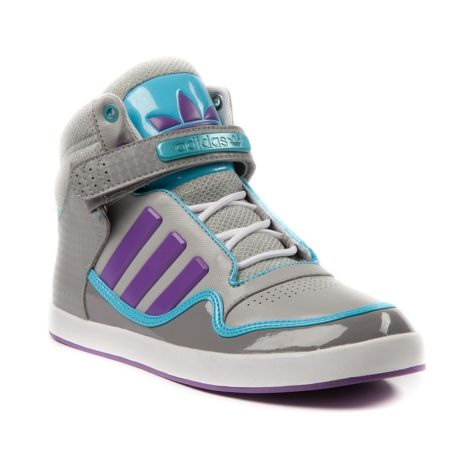 Womens adidas ADI,Rise 2.0 Athletic Shoe in Gray Purple Blue at Journeys Shoes.