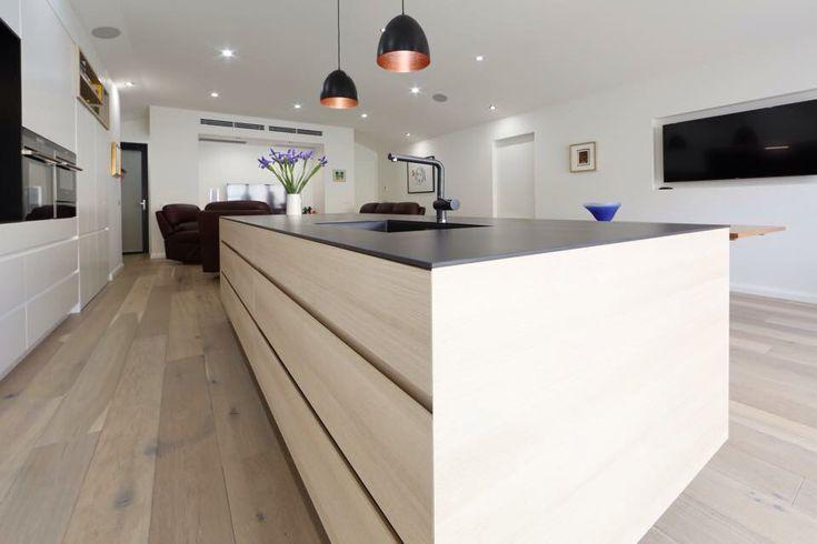 8mm dekton bench top in domoos blackbenchtop melbourne contemporary