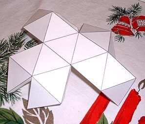 Template for starbody when making the Christmas star...was left out of instructions
