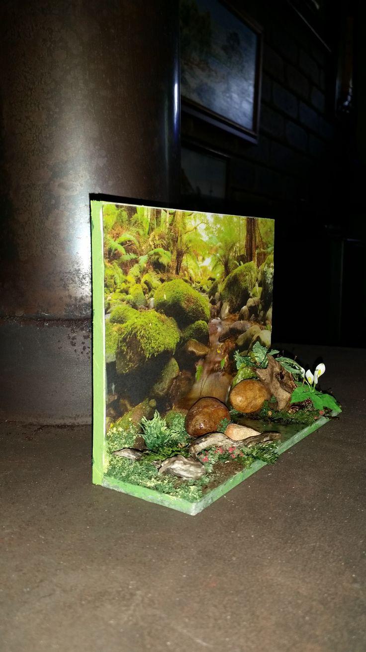 make a 3D card - finished