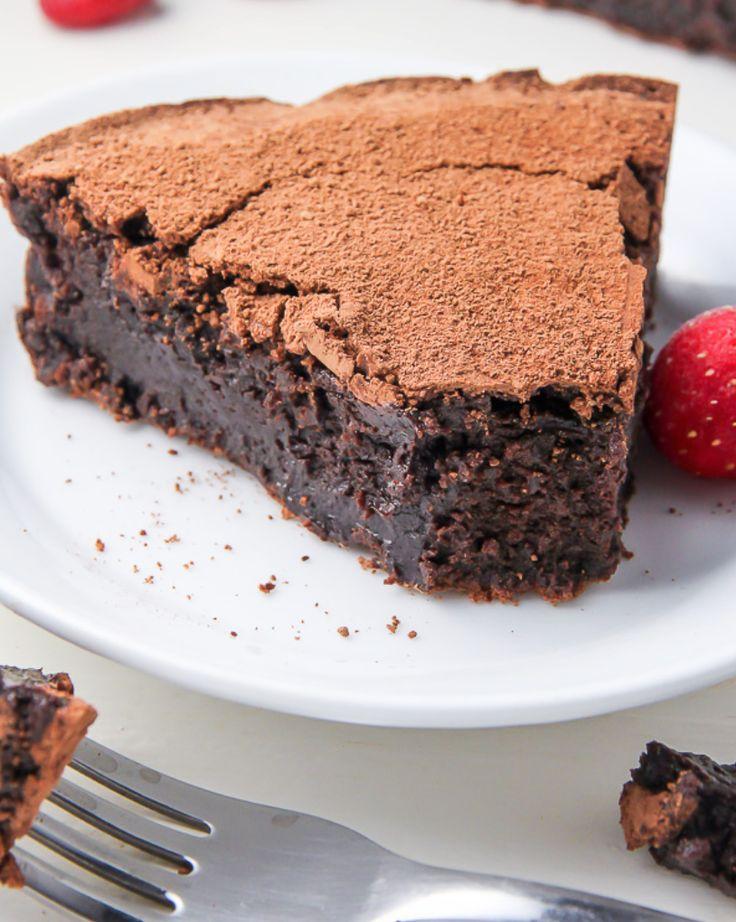 Chokladfudge utan mjöl