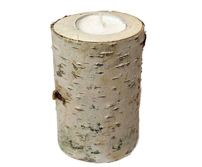 Drewniany świecznik z brzozy. - 4FunDesign - Dekoracje #fashion #dekoracje #decor #ekotechnik24