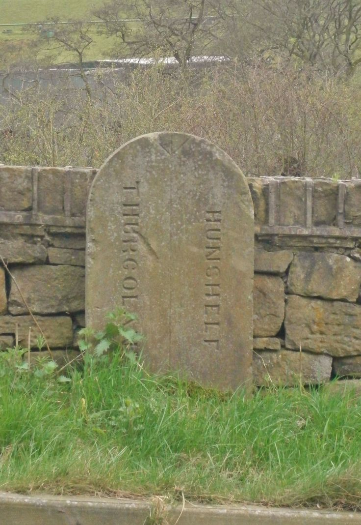 Thurgoland Hunshelf. Sheffield. YKS. Boundary SE 7783 01741