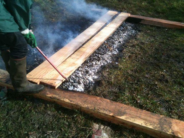 Une extension en bois br u00fblé dans un secteur protégé du Morbihan Bretagne, Extensions et Barbecue # Bois Brulé Technique