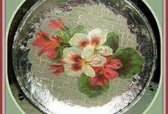 Αποτέλεσμα εικόνας για αναποδο ντεκουπαζ σε γυαλινο πιατο