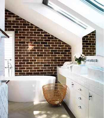 lovely brick feature wall from edwina mccann's home