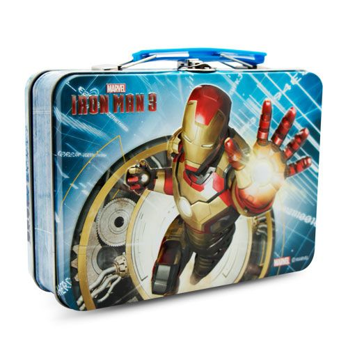 Marvel Ironman Lunch Box – BLJ Candy Toys | Manufacturer,Distributer and Exporter Candy Toys in China http://BLJCandyToys.com