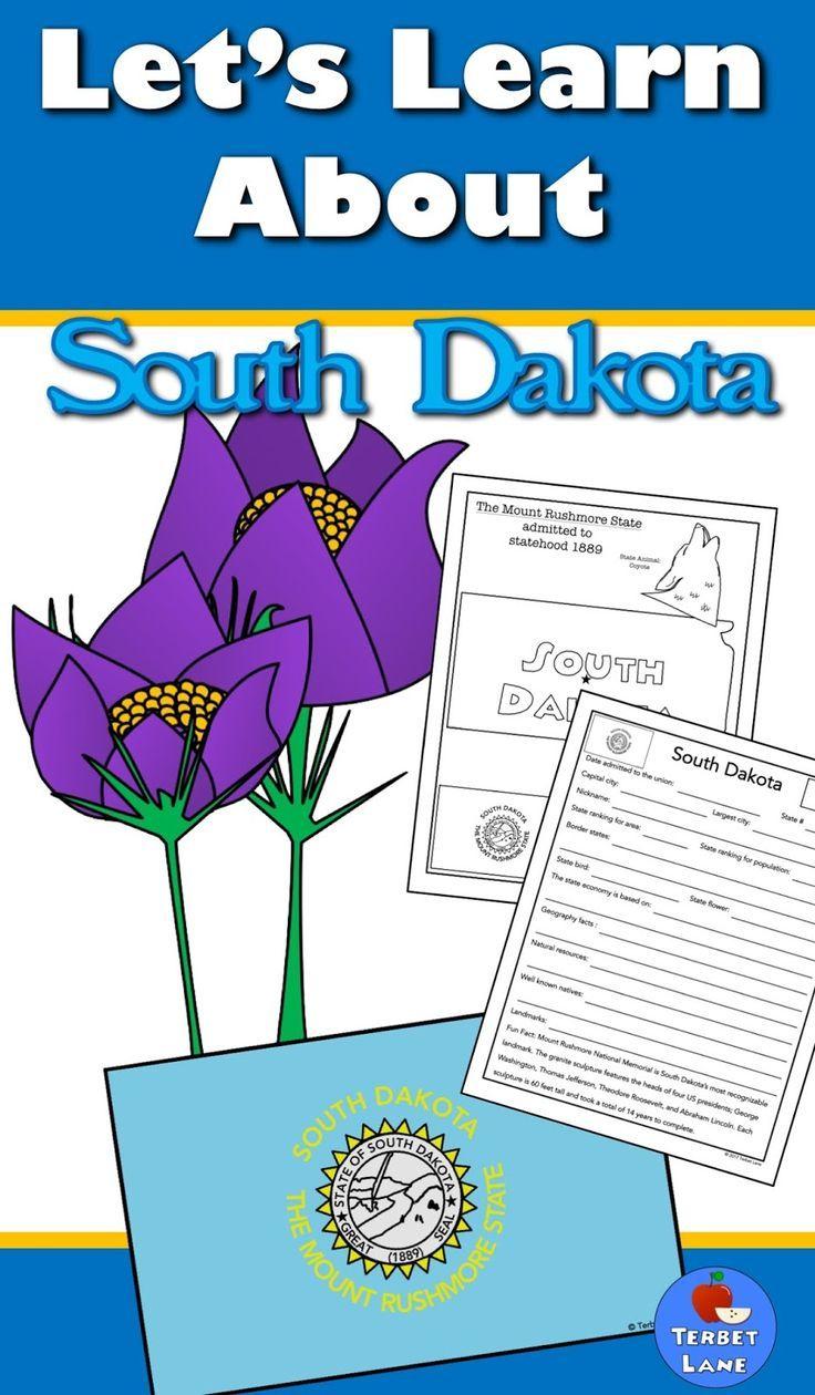 South Dakota History And Symbols Unit Study American History And