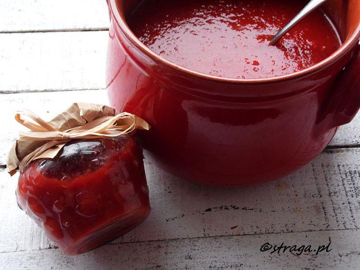 Domowy przecier pomidorowy (Puree pomidorowe)
