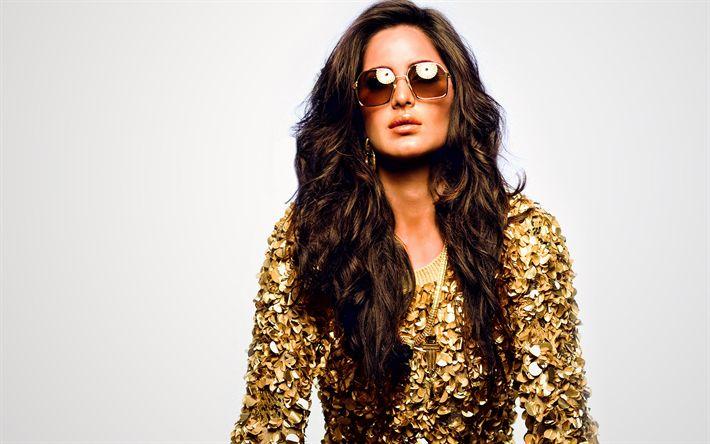 Descargar fondos de pantalla Katrina el kaif, la actriz India, morena, las mujeres de la India