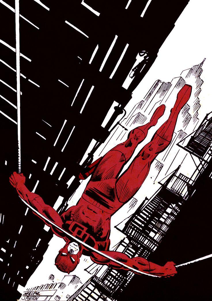 Daredevil - Frank Miller, Colors: Klaus Jason