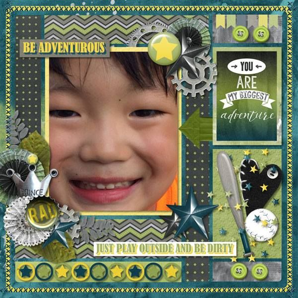 Layout using {Boy Meets World} Digital Scrapbook Collection by Pixelily Designs available at Gingerscraps http://store.gingerscraps.net/Pixelily-Designs/ #digiscrap #digitalscrapbooking #pixelilydesigns #boymeetsworld
