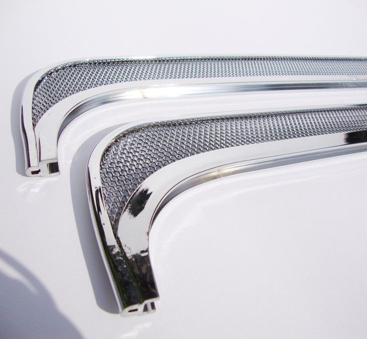 Ventana Respiradero molduras para Escarabajo VW Malla Molduras regus PULIDO 64 | eBay