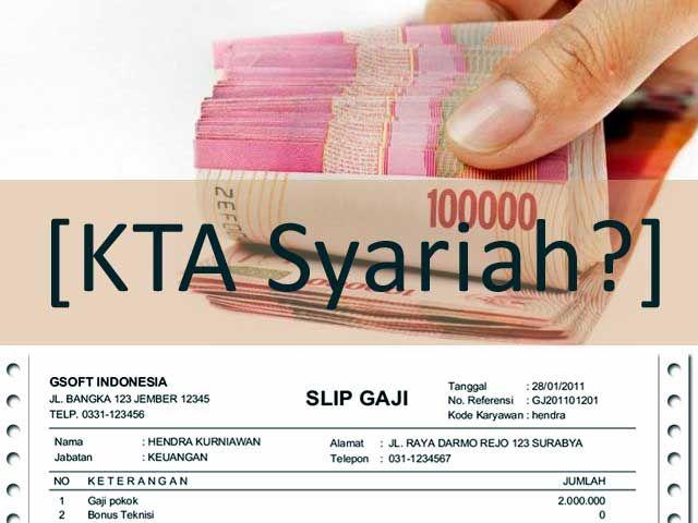 Mengenal Produk KTA di Bank Syariah