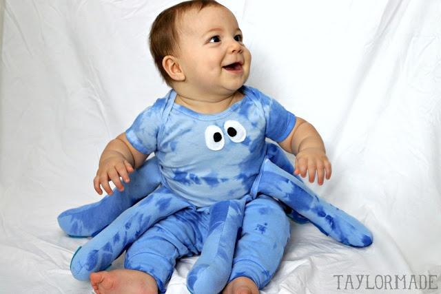 Infant Halloween costume - Octopus