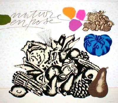 Artista C Pozzati in Ortogallery di www.ortodamare.com