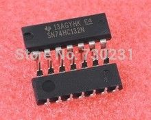 Free Shipping One Lot 3pcs 74HC132 74132 74HC132N Quadruple 2-Input NAND Schmitt Trigger DIP-14