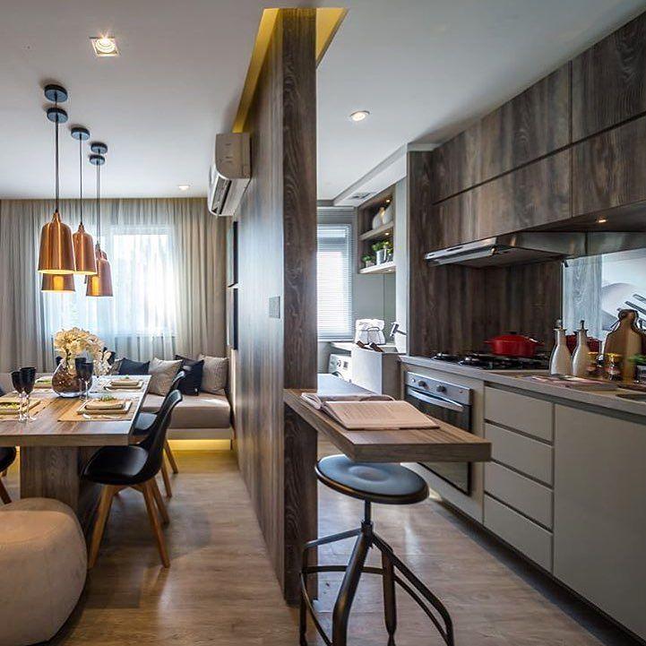 Bom dia!  Cozinha integrada à sala de jantar em perfeita harmonia. Amei Projeto Claudia Albertini Me encontre também no @pontodecor  HI Snap:  hi.homeidea  http://ift.tt/23aANCi #bloghomeidea #olioliteam #arquitetura #ambiente #archdecor #archdesign #hi #cozinha #homestyle #home #homedecor #pontodecor #homedesign #photooftheday #love #interiordesign #interiores  #picoftheday #decoration #world  #lovedecor #architecture #archlovers #inspiration #project #regram #canalolioli #sabado #saturday