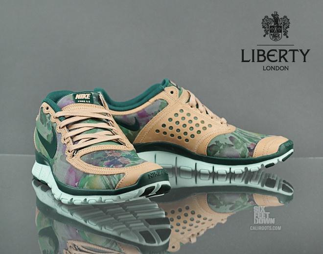 liberty x nike free 5.0
