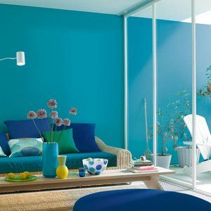 sch ner wohnen farbe lagune f rs bad haus garten in. Black Bedroom Furniture Sets. Home Design Ideas