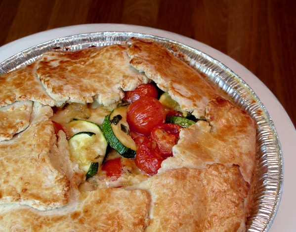 Tomato Zucchini Pie