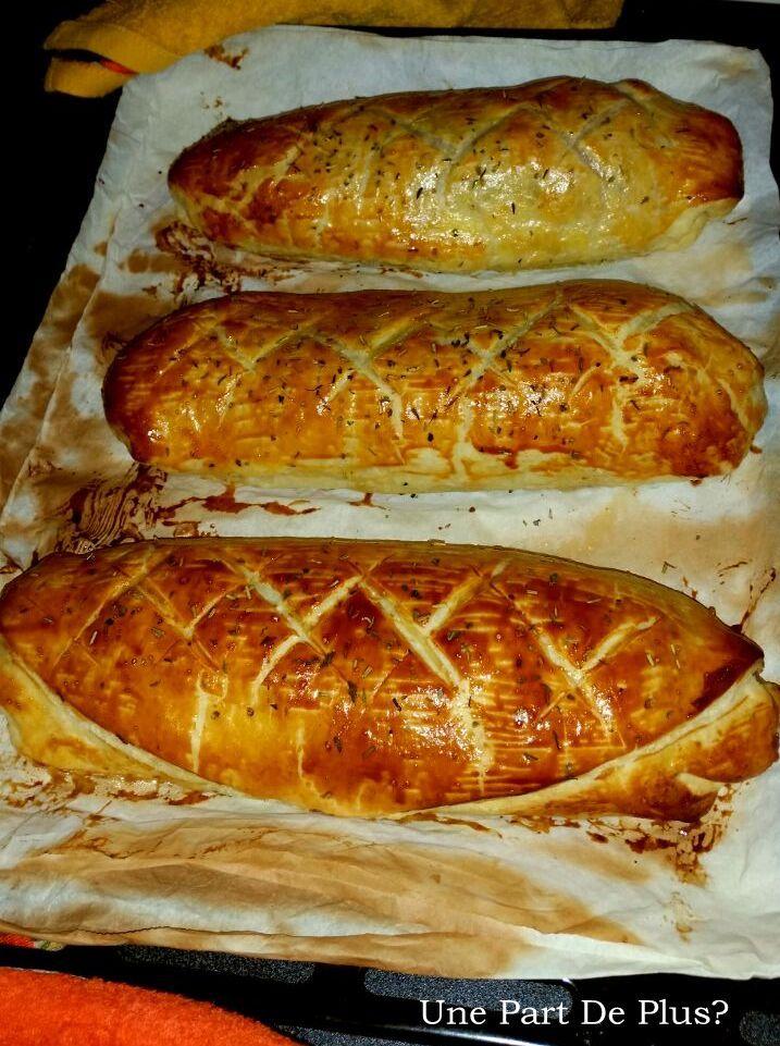 Filet mignon de porc chèvre/miel en croûte |
